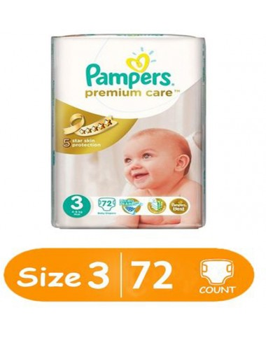 Pampers Premium Care Size 3 (72 Pcs)