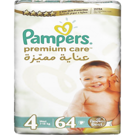 Pampers Premium Care Size 4 (52 Pcs)