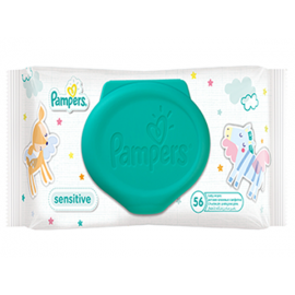 Pampers Sensitive Wipes (pack Of 56)