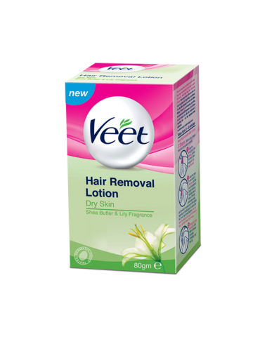 Veet Hair Removal Lotion (Dry Skin) 80g