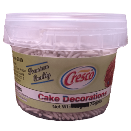 Cresco White Sprinkles 75g