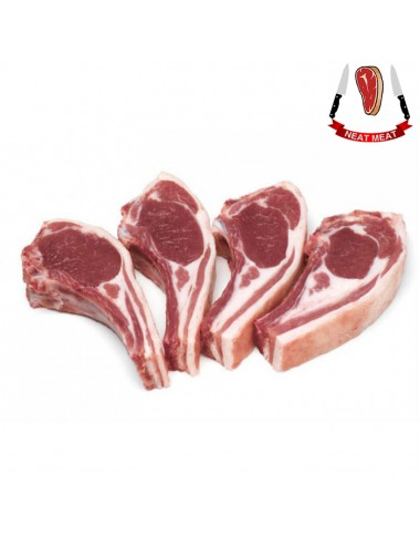 Mutton Back Chops (500gms) - Neat Meat