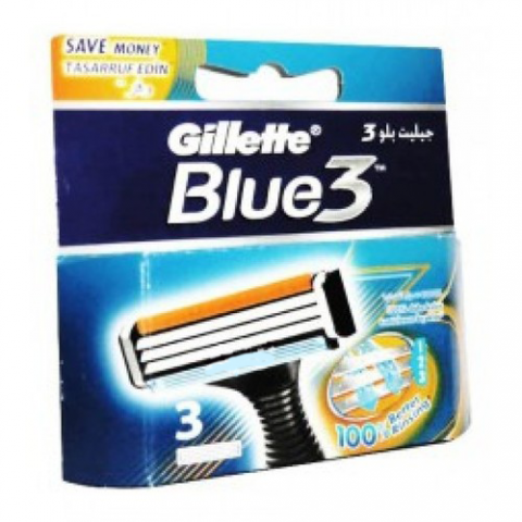 Gillette Blue 3 System Carts 3