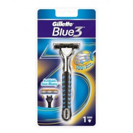 Gillette Blue 3 System Razor 1 Up