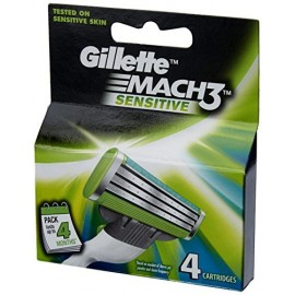 Gillette Mach 3 Sensitive 4 Carts
