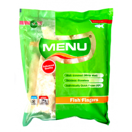 Menu Fish Fingers 1kg