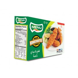 Menu Handcrafted Chicken Tenders 500g