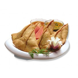 Menu Lahori Chicken Samosa 480g