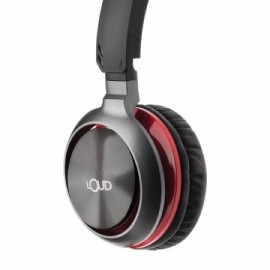 Loud Headphone Red