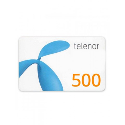 Telenor Card 500