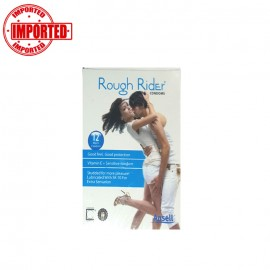 Rough Rider Condom Blue 12 Pcs
