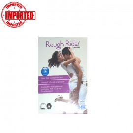 Rough Rider Condom Purple - 12 Pcs