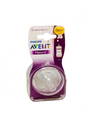 Philips Avent Natural Teats 0M+