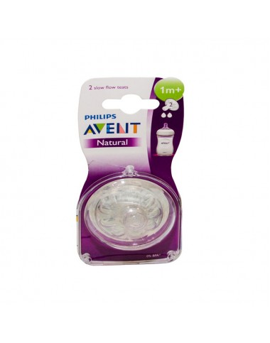 Philips Avent Natural Teats 1M+