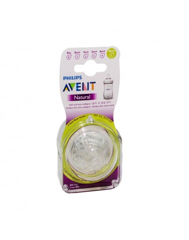 Philips Avent Natural Teats 9M