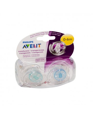 Philips Avent Soother Orthodontic Classic 0-6M