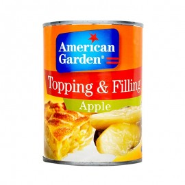 American Garden Topping & Filling Apple - 595g