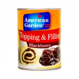 American Garden Topping & Filling Blackberry - 595g