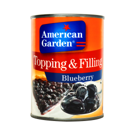 American Garden Topping & Filling Blueberry - 595g