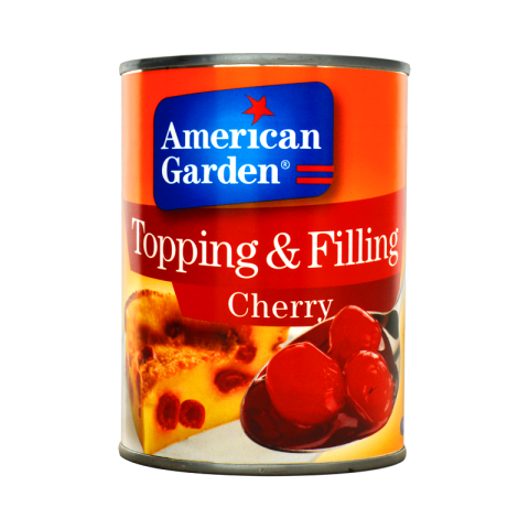 American Garden Topping & Filling Cherry 595g