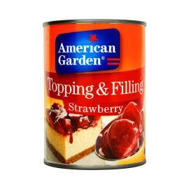 American Garden Topping & Filling Strawberry 595g