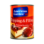 American Garden Topping & Filling Strawberry - 595g