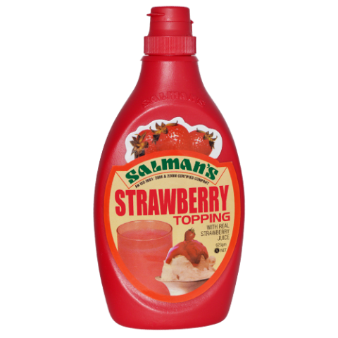 Salman's Strawberry Topping 623g