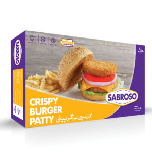 Sabroso Crispy Burger Patties - 1000g