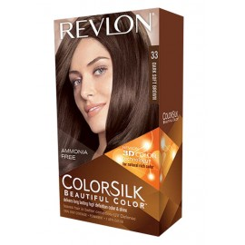 Revlon Colorsilk Beautiful Color Dark Soft Brown 33