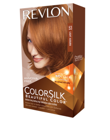 Revlon ColorSilk Beautiful Color Light Auburn 53