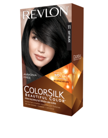 Revlon ColorSilk Beautiful Color Soft Black 11