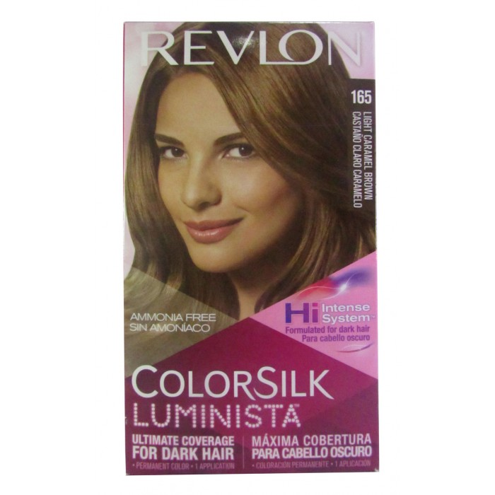 Revlon Hair Color Light Caramel Brown 165