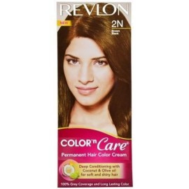 Revlon Permanent Cream Brown Black-2n