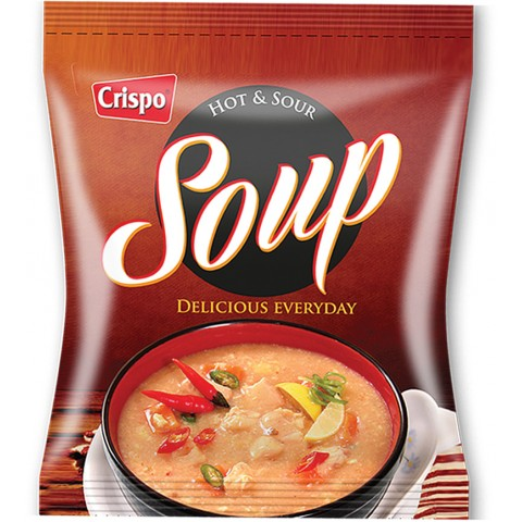 Crispo Hot & Sour Soup 50g