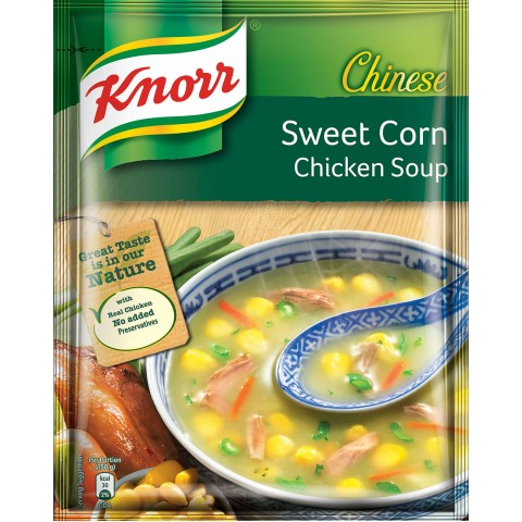 Knorr Chinese Corn Soup 50g