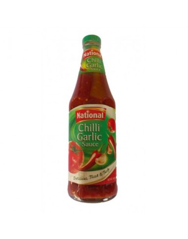 National Chilli Garlic Sauce 800g