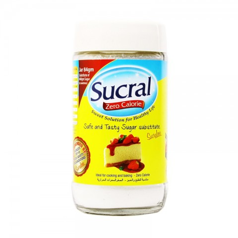 Sucral Zero Calories Jar 84g