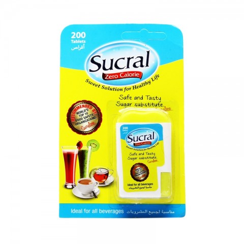 Sucral Zero Calories Tablets (200)