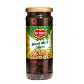 Del Monte Black Olive Slices 450g