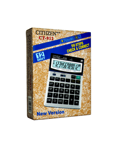 Citiizen Electronic Calculator CT-912
