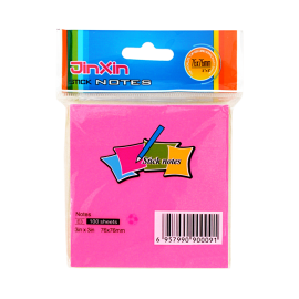 Jinxin Colour Sticky Notes (3x3 Inch)