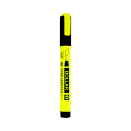 Dollar Fluorescent Highlighter Yellow 4.5mm