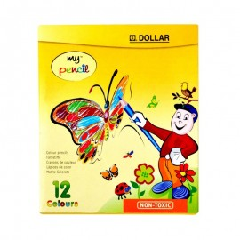 Dollar My Pencil Colour (pack Of 12)
