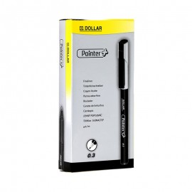 Dollar Pointer Softliner 0.3 Black (pack Of 10)