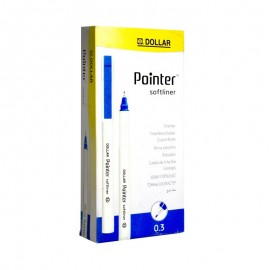 Dollar Pointer Softliner 0.3 Blue (pack Of 10)