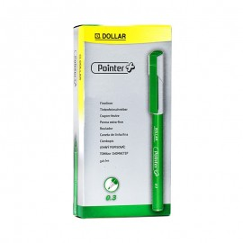 Dollar Pointer Softliner 0.3 Green (pack Of 10)