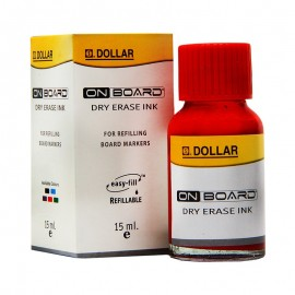 Dollar On Board Dry Erase Ink (red) 15ml