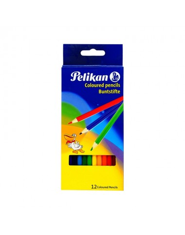 Pelikan Coloured Pencils (12 Pieces)