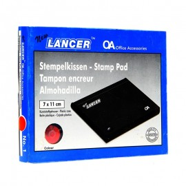 Lancer Stamp Pad (red)