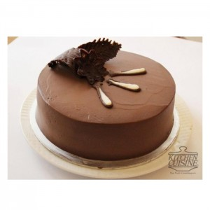 Mousse Layer Chocolate Cake
